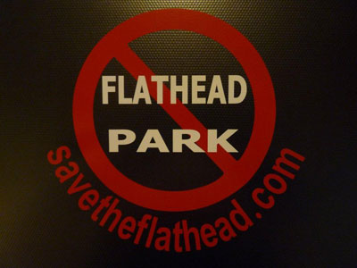 Save the Flathead Sticker